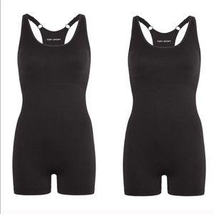 Tory Burch Sport black shapewear seamless bodysuit